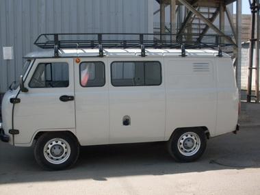 Багажник на УАЗ 390995 (
